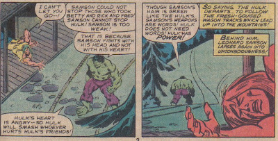 Wait, the Changelings can't be that much stronger than actual animals; so how did they work over Doc Samson so bad?