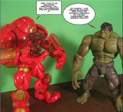 How many times can I type 'Hulkbuster' in this post before it loses all meaning?