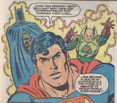 Dr. Herman actually stops Supes before he drops any names...