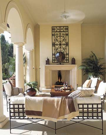 Little inspirations outdoor living rooms - Covered outdoor living spaces ...