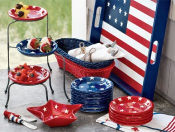 Little Inspirations 4th Of July Party Inspiration & 4th Of July Dinnerware | New House Designs