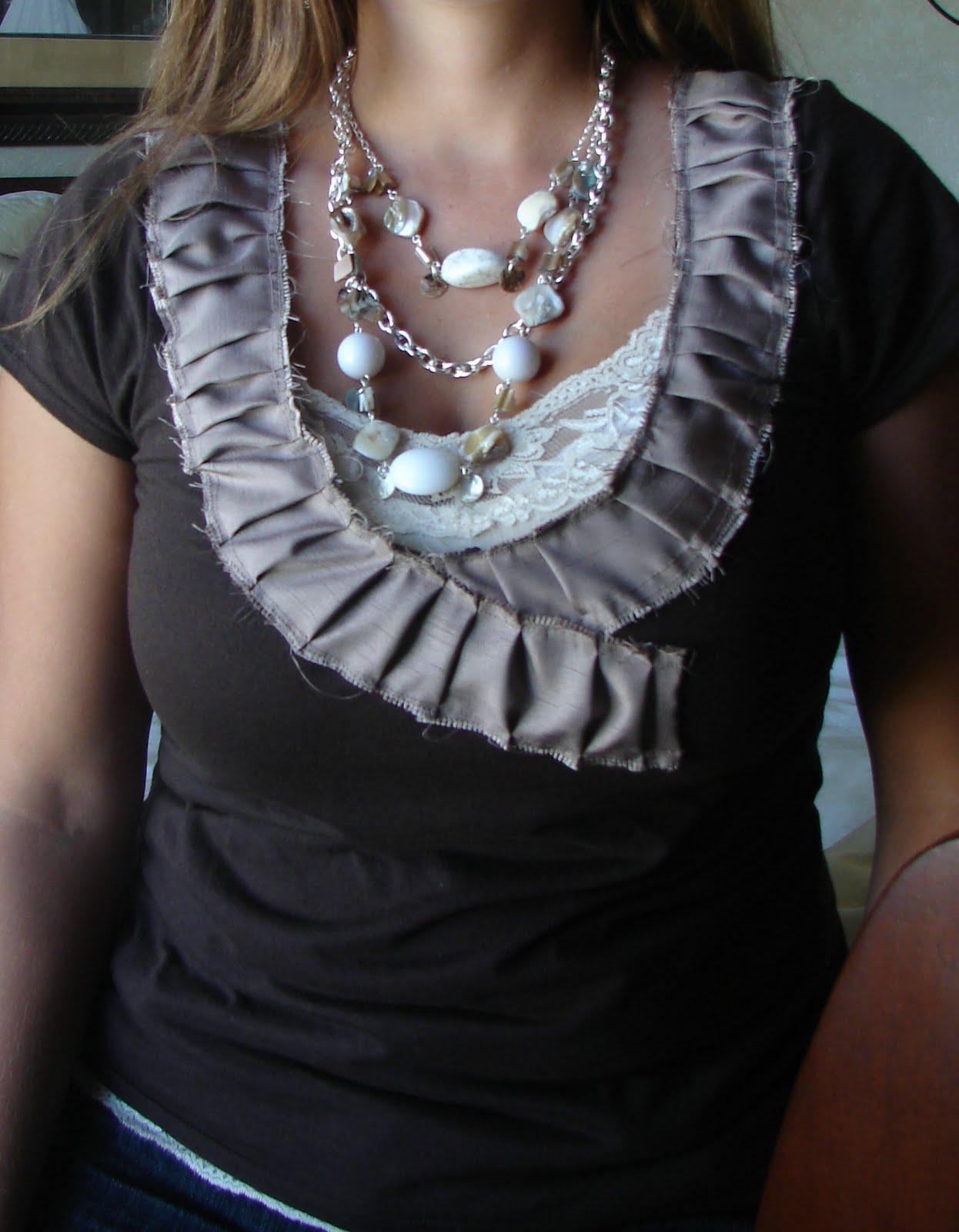 Little Inspirations My Ruffle Collar Tutorial