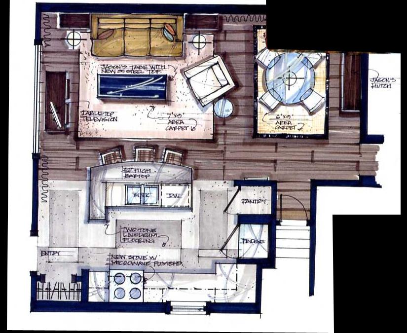Candice Olson Sketch For Design Students Pinterest Candice - new interior blueprint maker