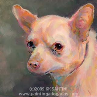 7d5ec7d56 Chiquita (Chihuahua Portrait)