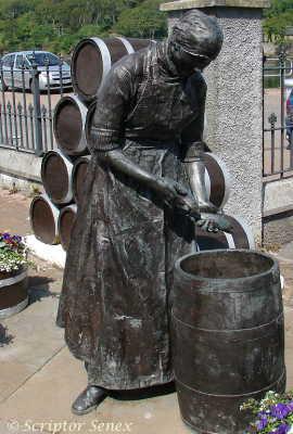 Fishwife statue