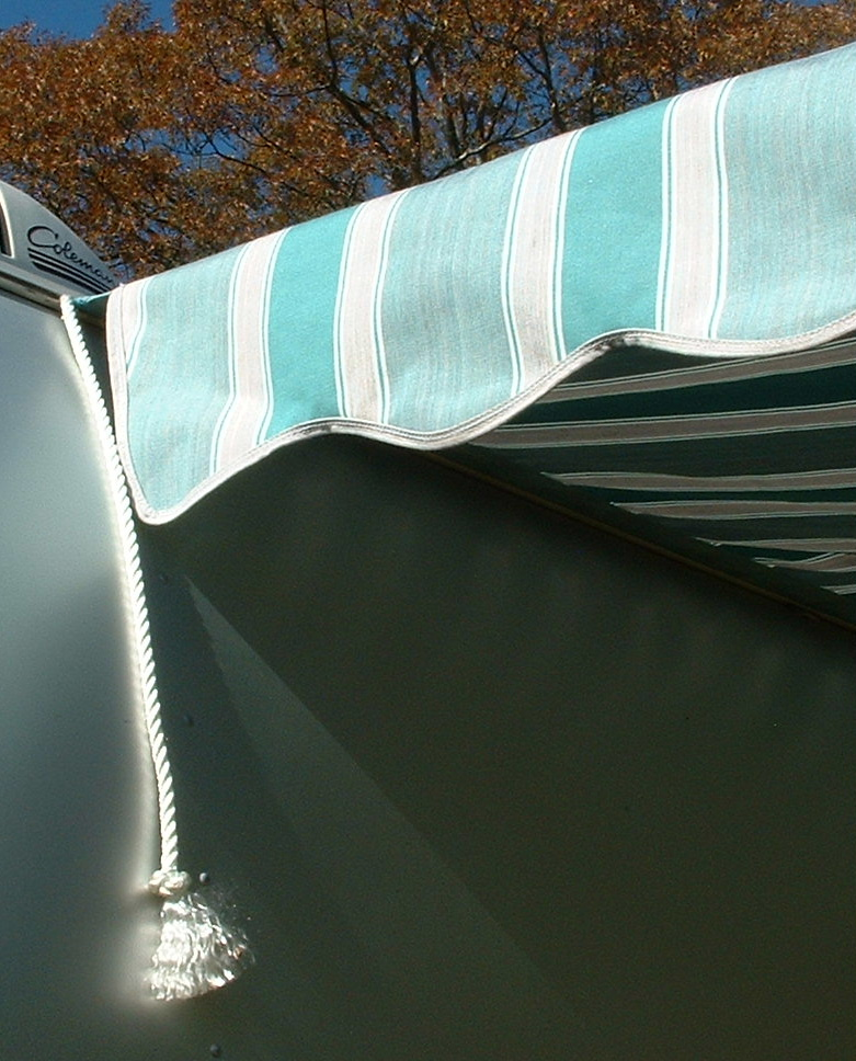 Vintage Awnings How Does A Vintage Look Awning Attach To