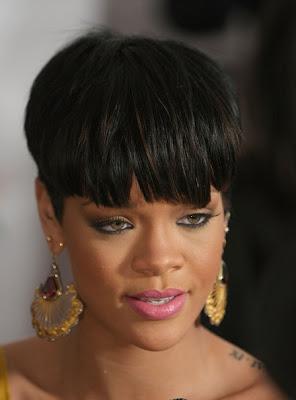 Latest Celebrity Fashion Hairstyles Celebrity Rihanna