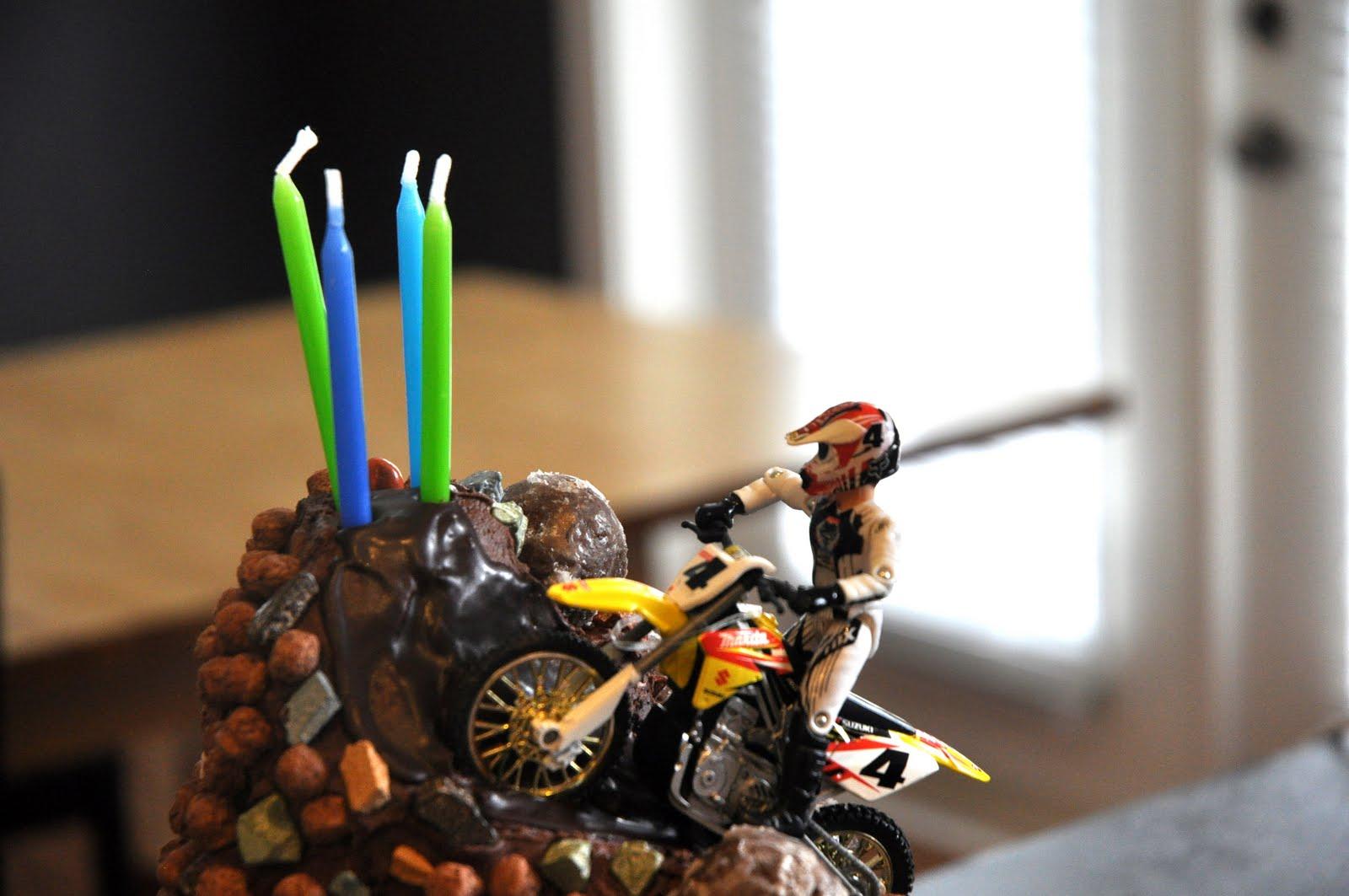 Fig Amp Ruby Sweets Dirt Bike Cake