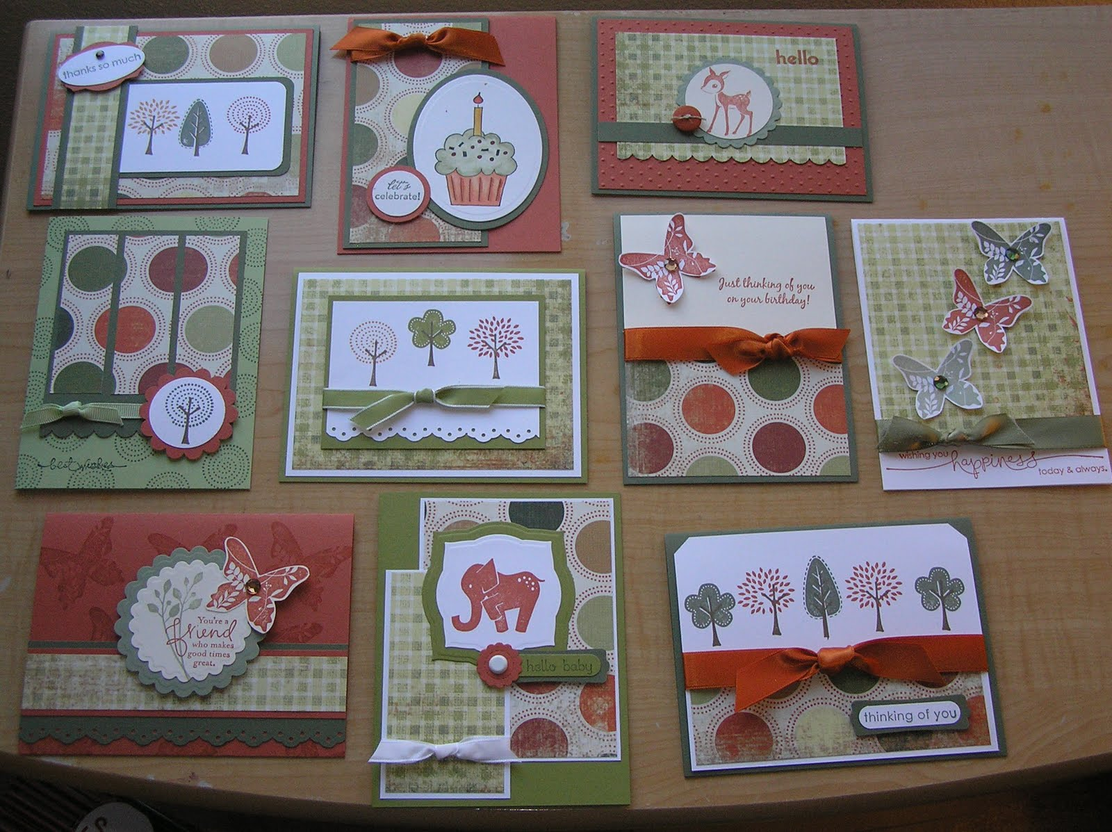 Paper, Pansies and Pachyderms: One Sheet Wonder Card Sets - photo#28