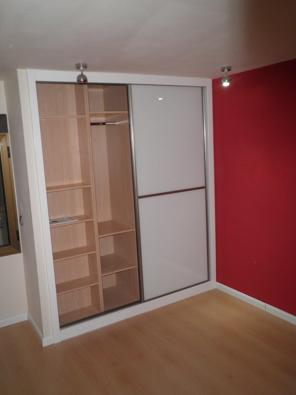 Decoraciones sahuquillo armario puertas correderas cristal - Puertas correderas de armarios ...