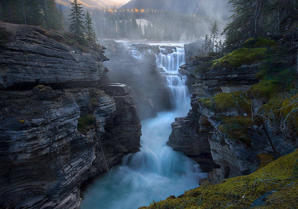 nature shots stunning most amazing beauty natural breathtaking awesome falls jasper photographs park waterfall waterfalls gorgeous astonishing photographers places collection
