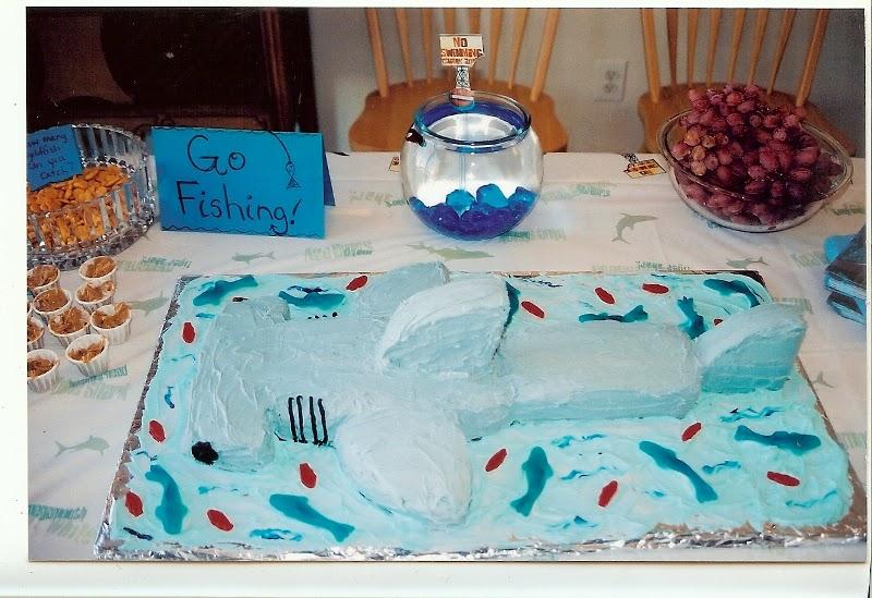 A Slice Of Smith Life Hammerhead Shark Cake