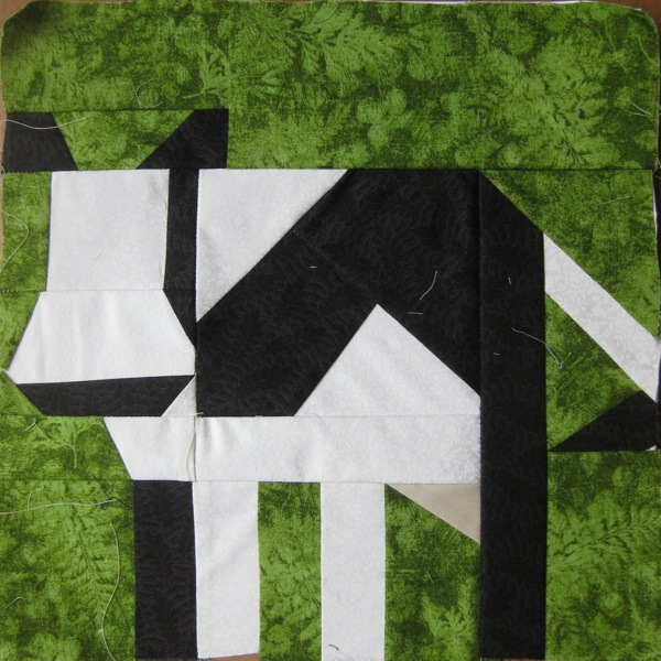 Liz S Quilts Etc Farm Quilt Cow