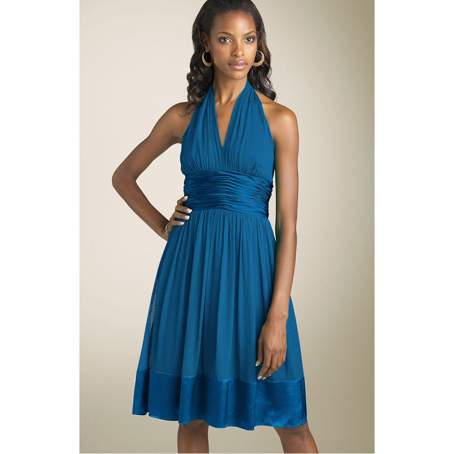 Wedding Inspiration: Blue Bridesmaid Dresses