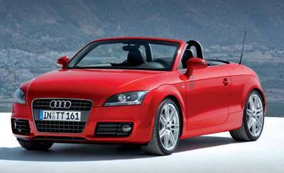 Audi Tt Roadster Is A Convertible Two Seater