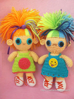 мастер-класс по вязанию куклы.