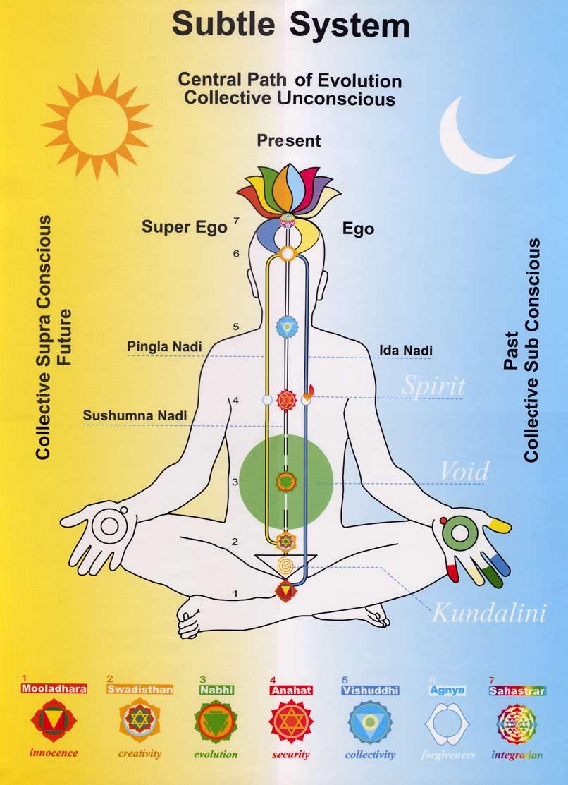 Namaste Yoga: Chakra Theory