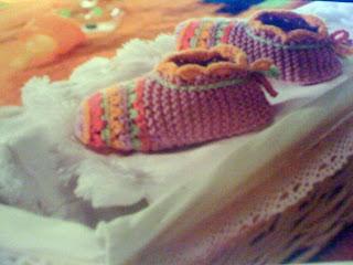 scarpine a righe per neonato