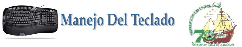 identificar las teclas alfanuméricas   MANEJO DEL TECLADO
