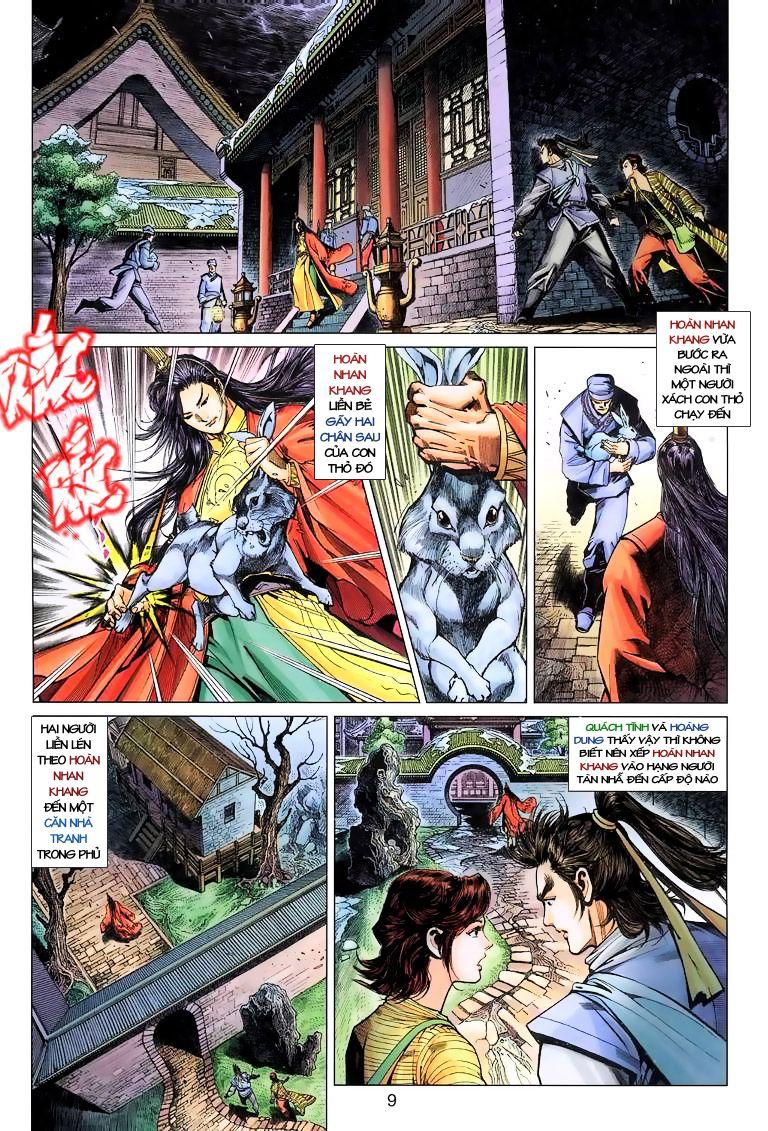 Anh Hùng Xạ Điêu anh hùng xạ đêu chap 10 trang 9