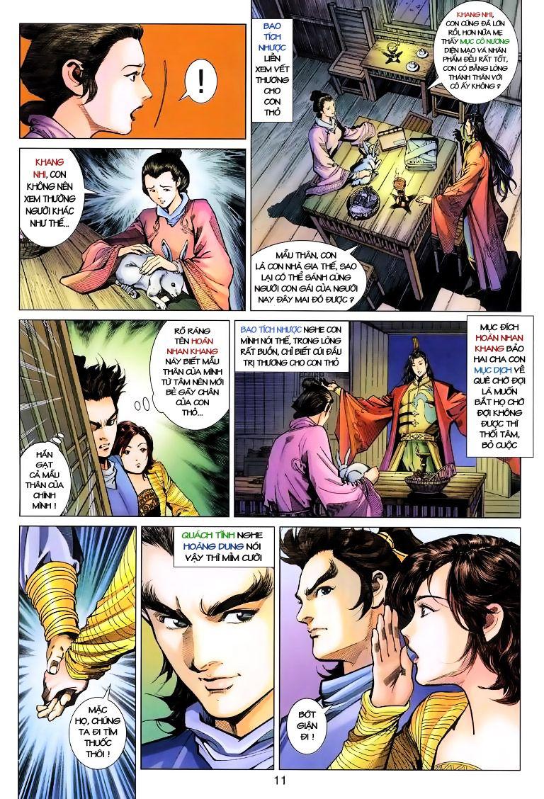 Anh Hùng Xạ Điêu anh hùng xạ đêu chap 10 trang 11
