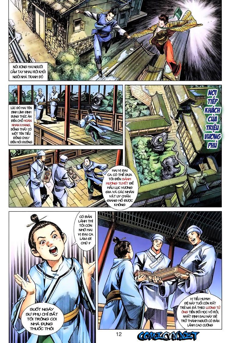 Anh Hùng Xạ Điêu anh hùng xạ đêu chap 10 trang 12