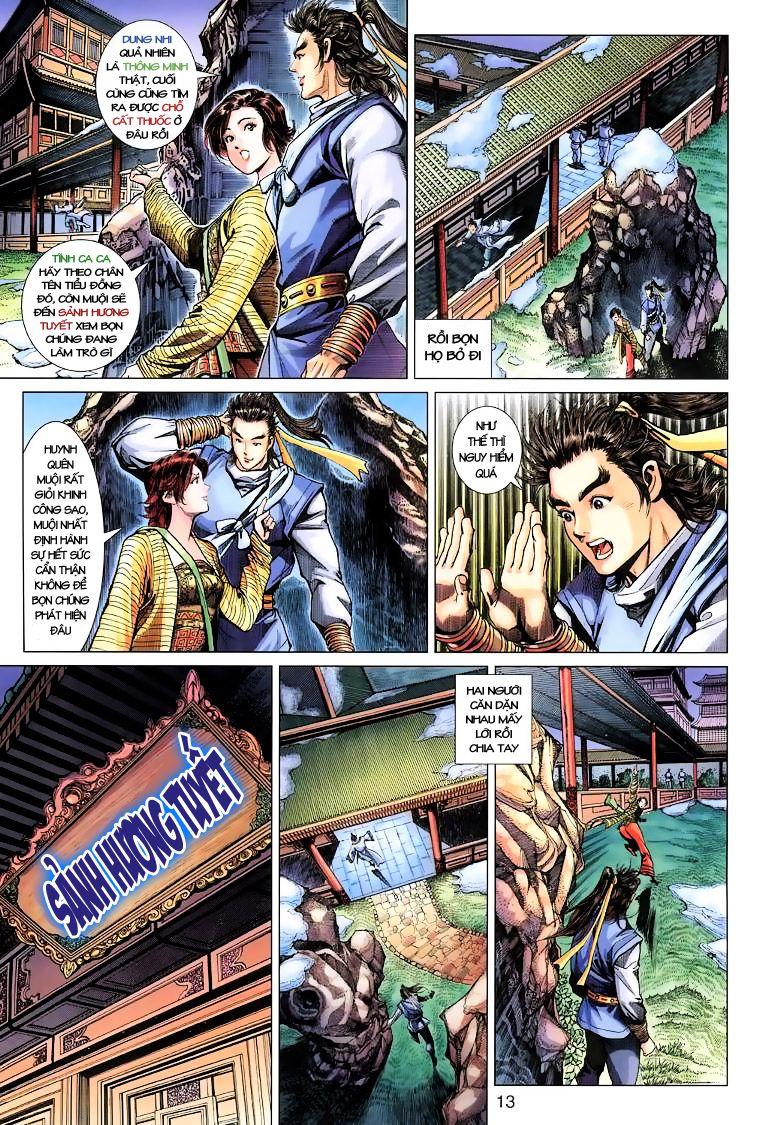 Anh Hùng Xạ Điêu anh hùng xạ đêu chap 10 trang 13