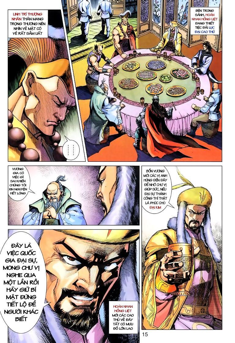 Anh Hùng Xạ Điêu anh hùng xạ đêu chap 10 trang 15
