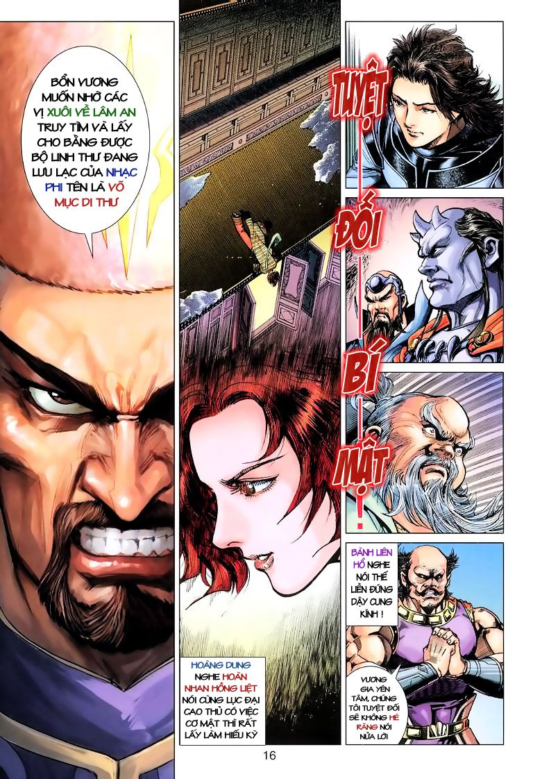 Anh Hùng Xạ Điêu anh hùng xạ đêu chap 10 trang 16