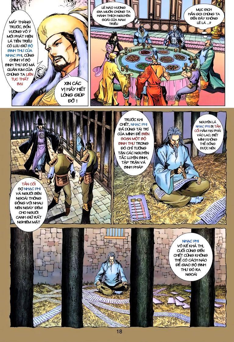 Anh Hùng Xạ Điêu anh hùng xạ đêu chap 10 trang 18