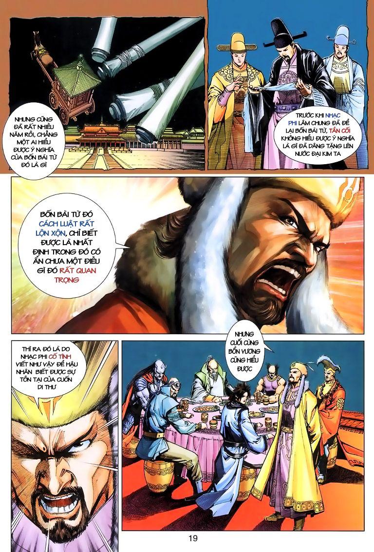 Anh Hùng Xạ Điêu anh hùng xạ đêu chap 10 trang 19