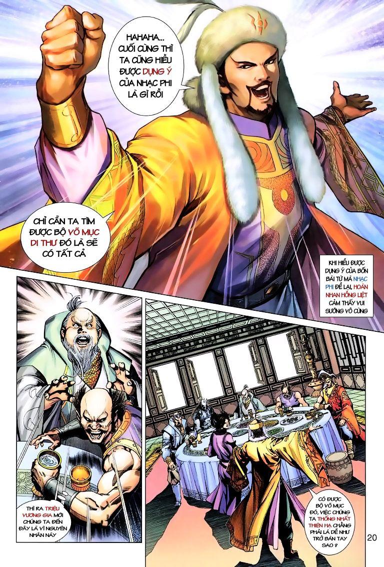 Anh Hùng Xạ Điêu anh hùng xạ đêu chap 10 trang 20