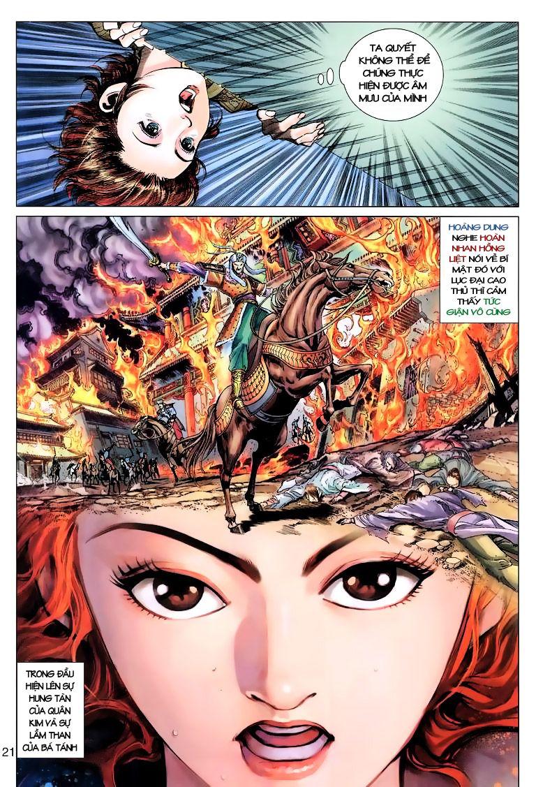 Anh Hùng Xạ Điêu anh hùng xạ đêu chap 10 trang 21