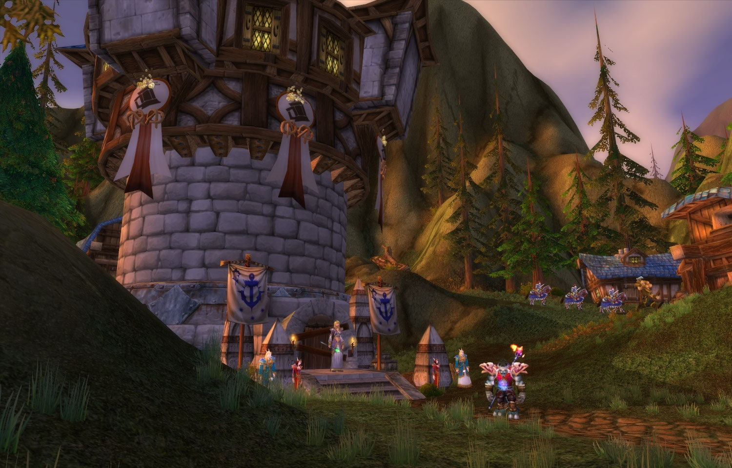 Priest with a Cause: A trip to Mount Hyjal