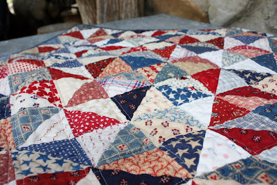 More red, white and blue - Diary of a Quilter - a quilt blog : red and blue quilt - Adamdwight.com
