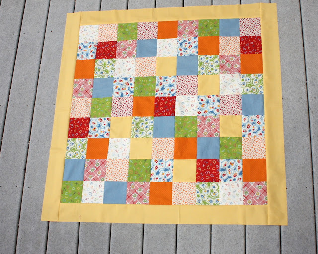 how to sew a quilt top