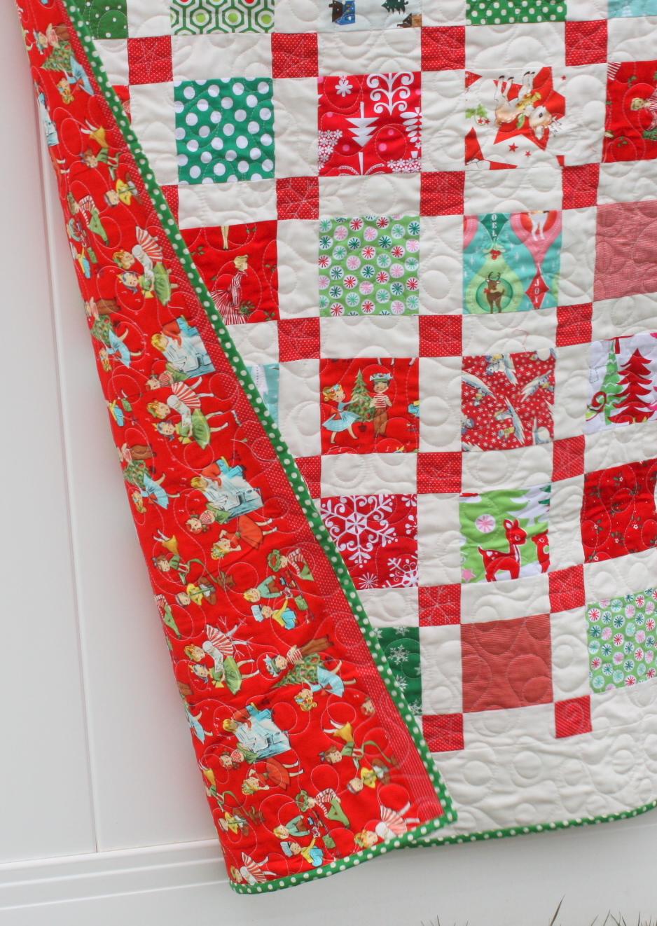 Retro Christmas Quilt - Diary of a Quilter - a quilt blog : retro quilts - Adamdwight.com