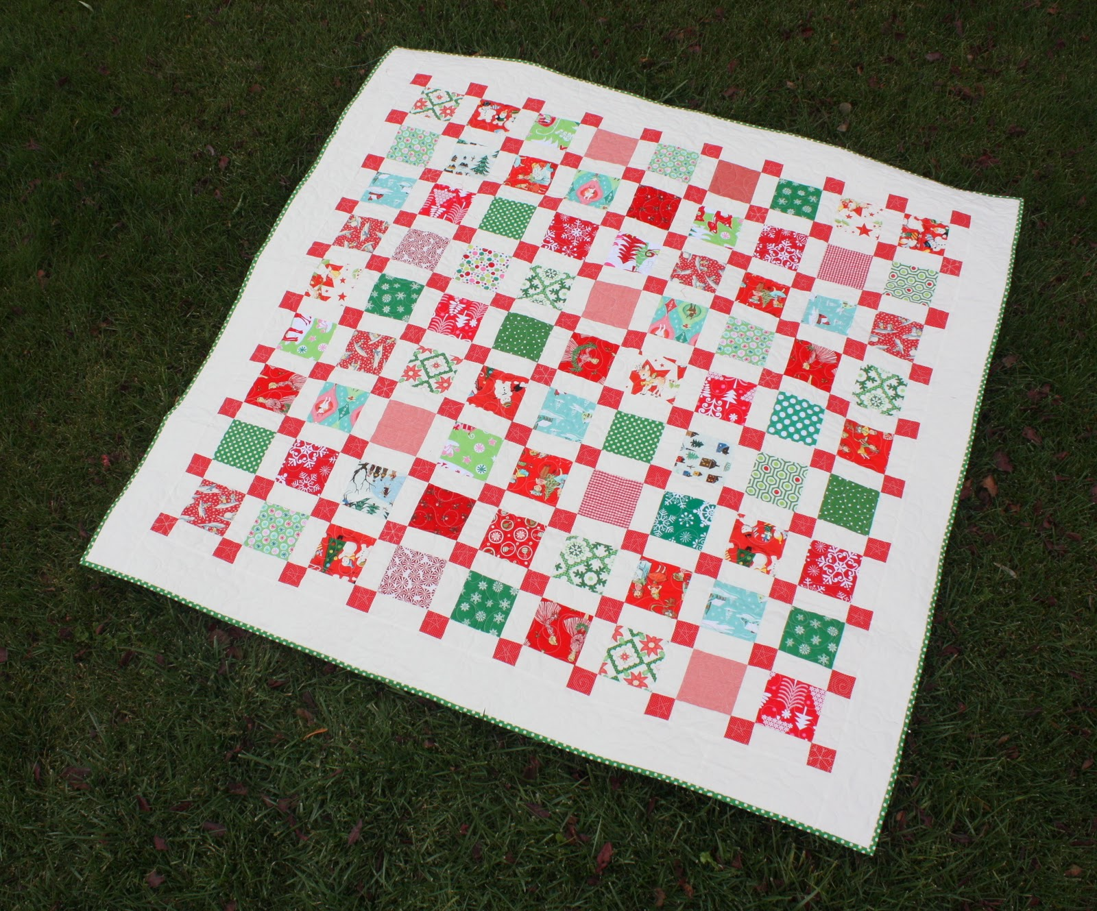 Retro Christmas Quilt - Diary of a Quilter - a quilt blog : vintage christmas quilt - Adamdwight.com