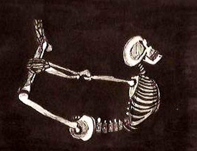 Heavy Metal Yogi Yoga Skeleton 15
