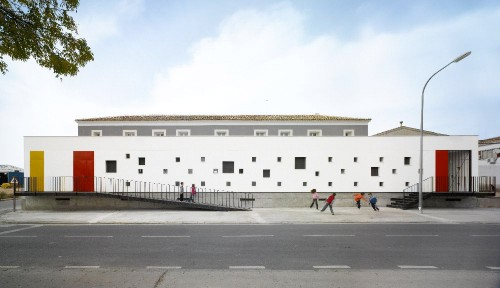 School Extension in Toledo by GRG Arquitectos