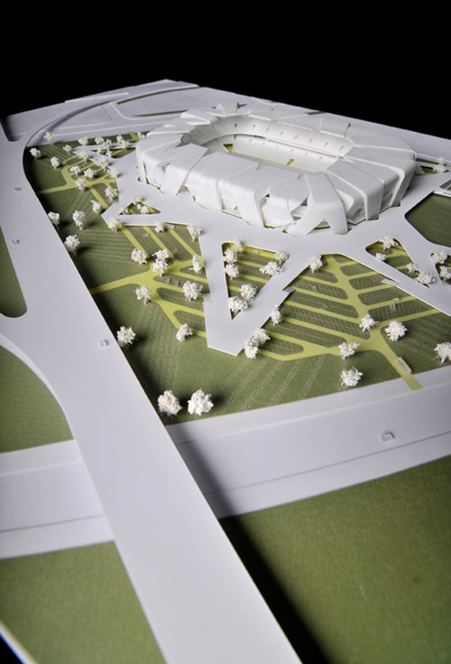 Stadium Architecture Design