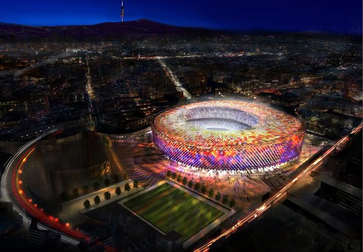 Remodel The Camp Nou Stadium by Foster + Partners