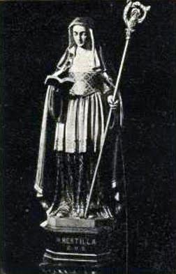Resultado de imagen para SANTA BERTILA, ABADESA