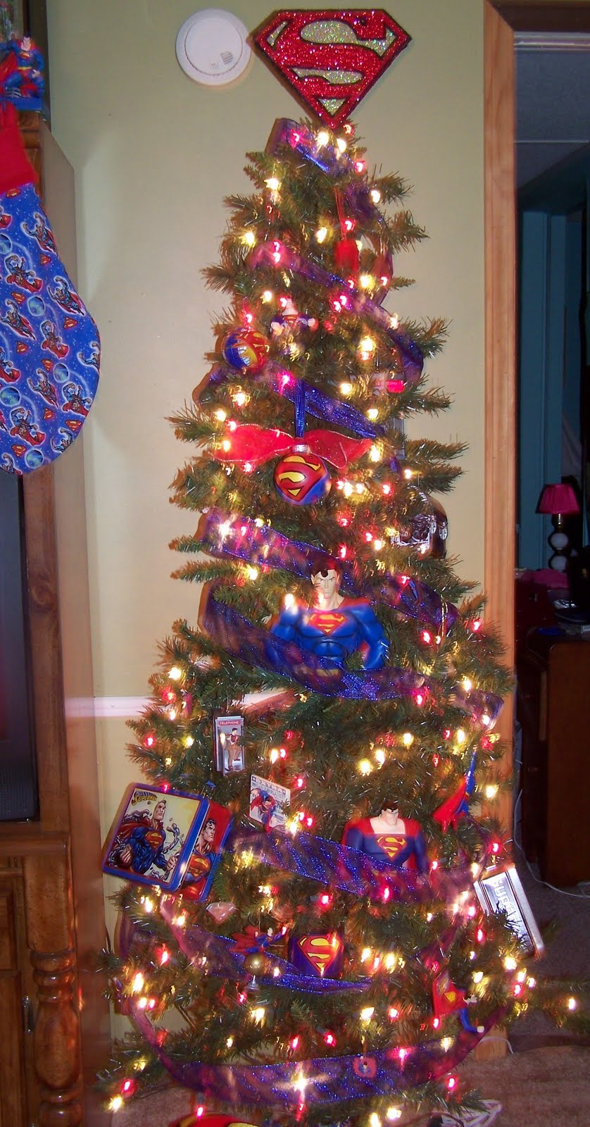 Superman Christmas Tree
