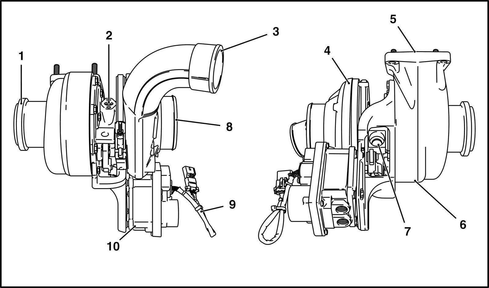 Sel Na Veia Motor Ngd 9 3e Turboalimentador De
