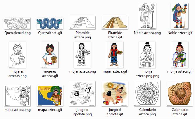 Dibujos para colorear sobre los aztecas | Diario Educación