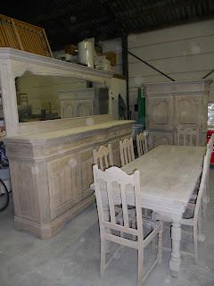 Renovatie eiken meubelen
