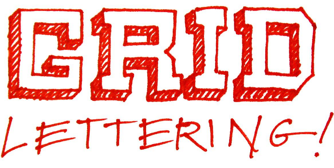 Design Grid Lettering Cathe Holden S Inspired Barn