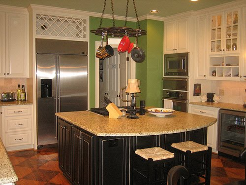 flickr Painted Kitchen Island Ideas With Posts on kitchen island with support beams, kitchen column ideas, kitchen island design ideas,