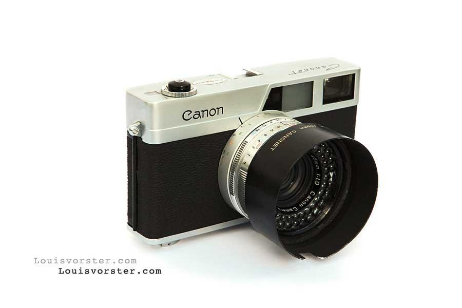 Camera Classics: Canon Canonet 1961